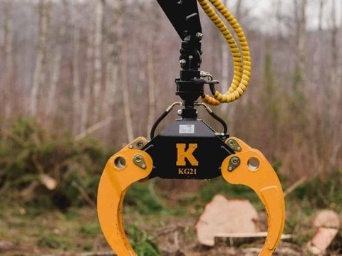 MD Landmaschinen Kellfri Holzzange     KG18- KG21