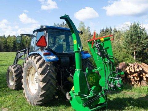 MD Landmaschinen Kellfri Holzhäcksler Modell 200 Sehr Robust