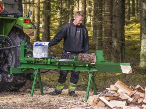 MD Landmaschinen Kellfri Holzspalter für Traktoren