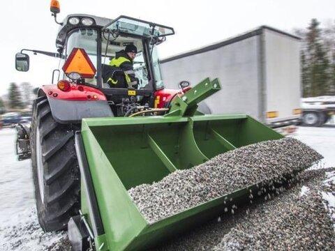 MD Landmaschinen Kellfri Salzstreuer Heckstreuer 900L/1,80m