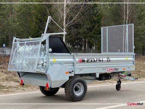 MD Landmaschinen Cynkomet Stalldungstreuer Miststreuer N233/4 mit