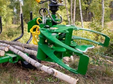 MD Landmaschinen Kellfri Holzzange mit Messer TK18