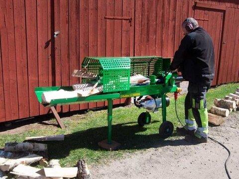 MD Landmaschinen Kellfri Holzspalter HK777