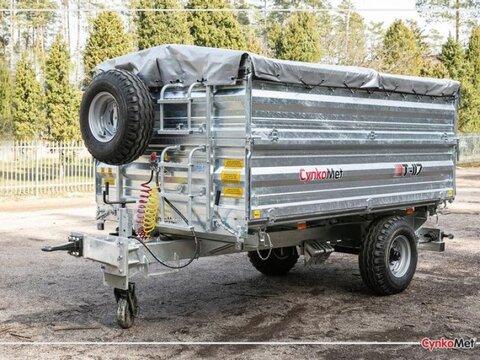 MD Landmaschinen Cynkomet Anhänger T-117 /2  - 7T