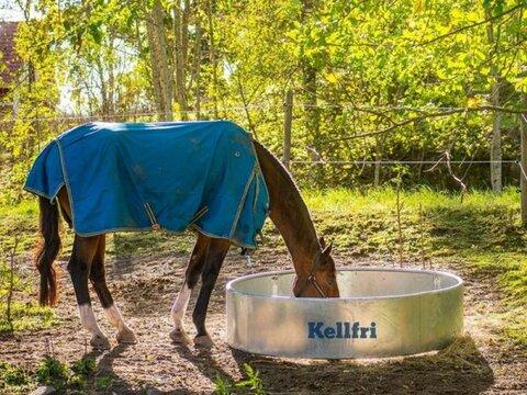 MD Landmaschinen Rundraufe für Pferde 180 cm KELLFRI