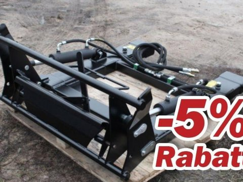 MD Landmaschinen AT Euroaufnahme Adapter für Gabelstapler