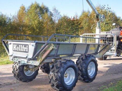 MD Landmaschinen Kellfri Rückeanhänger für Quad TV07PRO Und für M