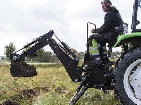 MD Landmaschinen Kellfri Anbaubagger für Traktoren
