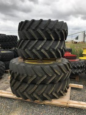 Michelin 480/80R46 + 480/70R30 Trelleborg