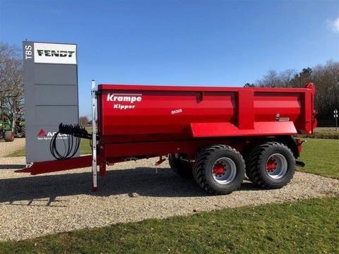 Krampe SK500 Entreprenør vogn med Hardox kasse