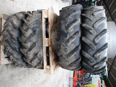 Komplet dæk og fælge plus komplet tvillinghjul hele veje