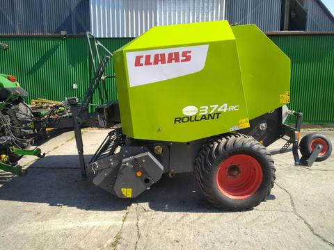 Claas Rollant 374 RC Vollausstattung