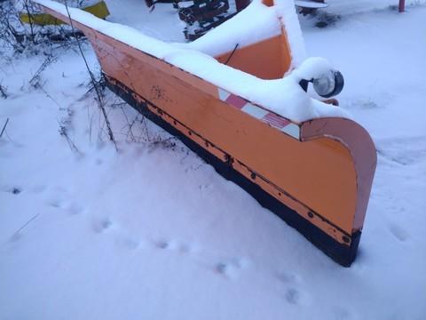 Düvelsdorf Schneeschild