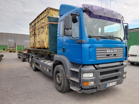 MAN TGA 26.390 Abrollcontainer Komplettzug