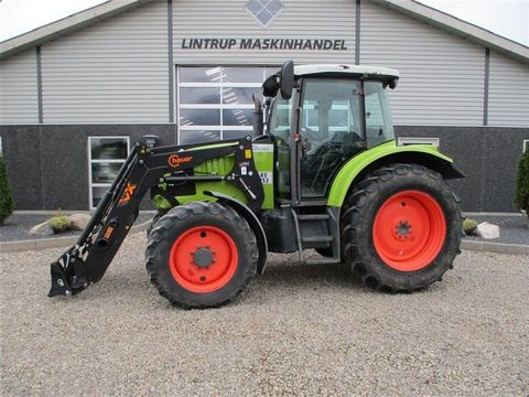 CLAAS ARES 557 ATX med nyere Hauer læsser