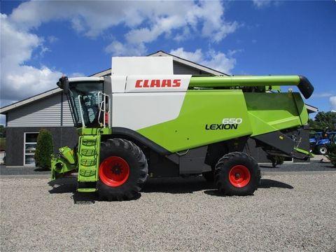 CLAAS LEXION 650 med et V660 skærebord til