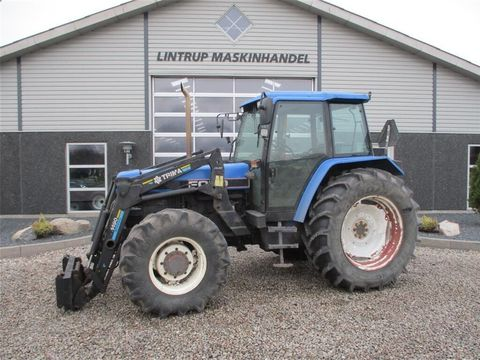 NEW HOLLAND 7840 SLE Med frontlæsser