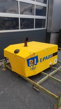 PAUS RL 1051 - Engine hood/Motorhaube/Motorkap