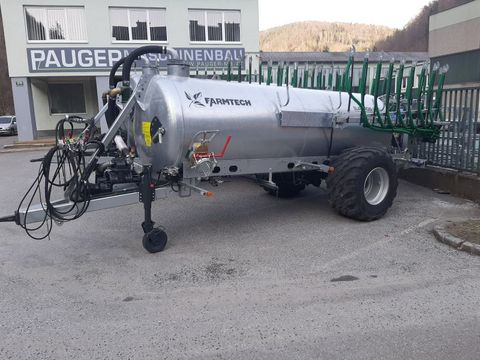 Farmtech Supercis 650 mit 7,5 m Schleppschuh