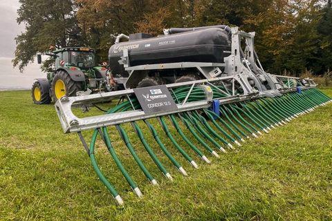 Farmtech Polycis 1100 T mit 12 m Schleppschuhverteiler