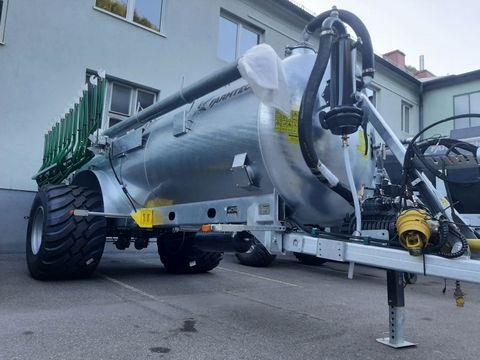 Farmtech Supercis 1000 mit 9 m Schleppschuh