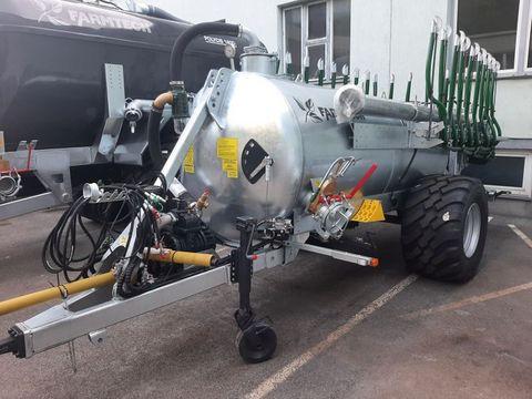Farmtech Supercis 500 mit 7,5 m Schleppschuh