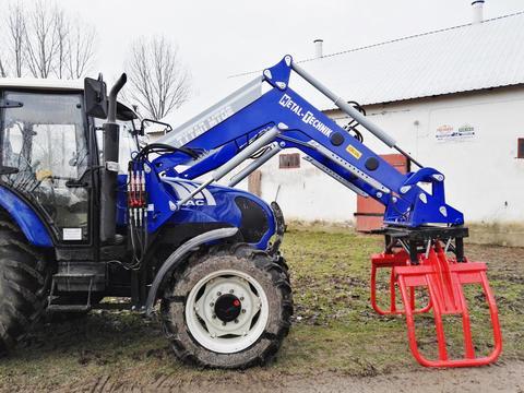 Metal-Technik Frontlader für Farmtrac/Front loader/Ładowacz TU