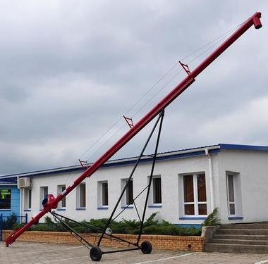 POM AUGUSTÓW Przenośnik ślimakowy T447/1 z napędem elektryczn