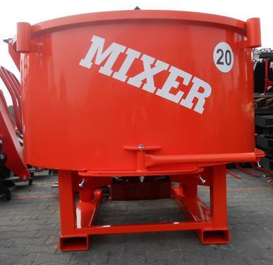 Agro- Factory MIXER - Traktor-Betonmischer/ Betoniarka ciągnikowa 600l