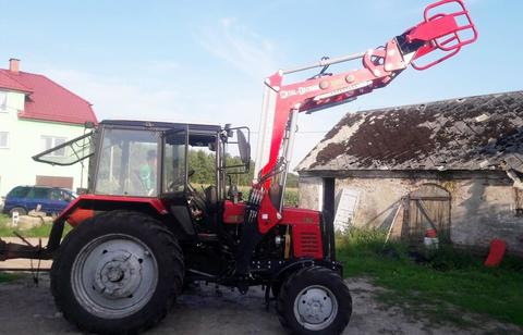 Metal-Technik Frontlader für MTZ/Front loader/Ładowacz TUR
