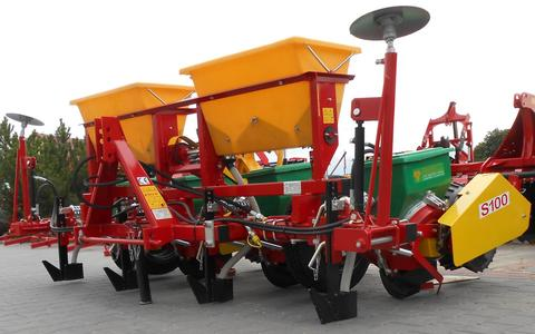 Meprozet Sämaschine für Mais/ Sowing machine/ Siewnik do