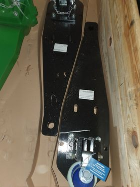 Scharmüller Tragplatte K80® New Holland, Case/HD Drawbar K80