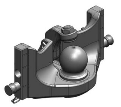 Scharmüller K80 Kugeleinsatz / Ball K80 insert