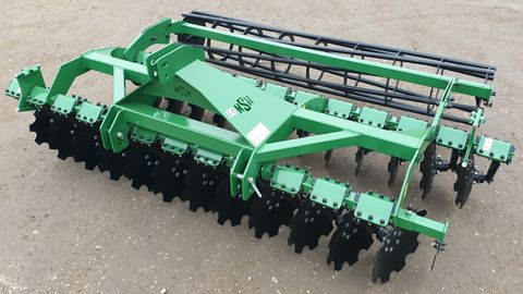 other Disc harrow MSM BT 30! Discs 510,tube bar roller