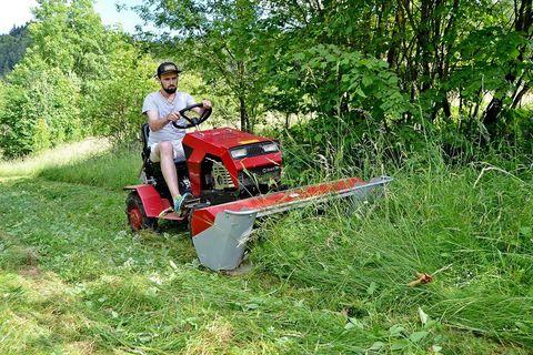 GOLJAT Heckscheibenmähwerk 125+ traktor Panter5