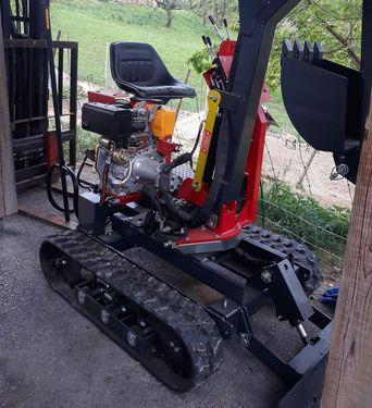 GOLJAT Smart Track Minibagger 662kg