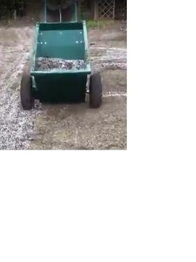 Drugo GOLJAT Fertilizer Sandstreuer 100l Fußballplatz