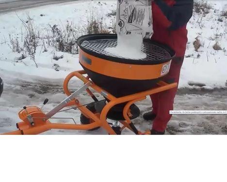 Drugo GOLJAT Sandstreuer Salzstreuer 150kg ATV, AUTO,.