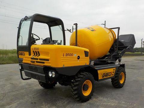 DIECI  2019 Dieci L3500 4x4 Self Loading Concrete Mixer