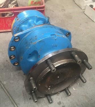 Berthoud Boxer 3000 Radmotor