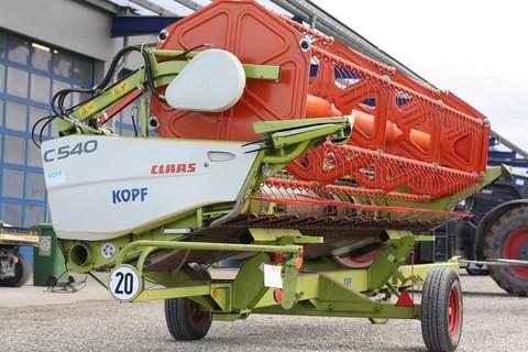 CLAAS C540 5,4 m Ersteinsatz 2013