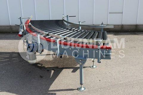 AWETA roller conveyor Curve 90°
