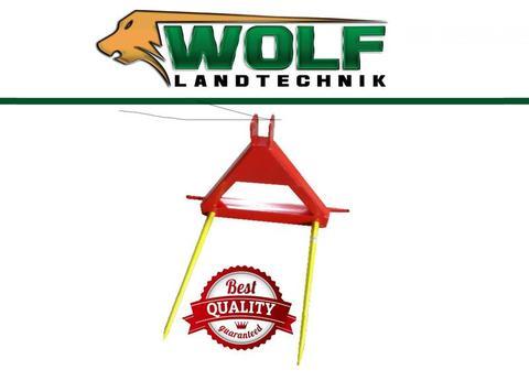 Wolf-Landtechnik GmbH Ballengabel | Ballenspieß | 3-Punktaufnahme