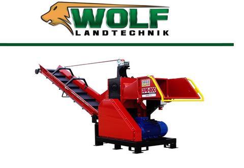 Remet CNC Wolf-Landtechnik GmbH Holzhacker RPE 200 mit Förderband 3.0m 6 Messer