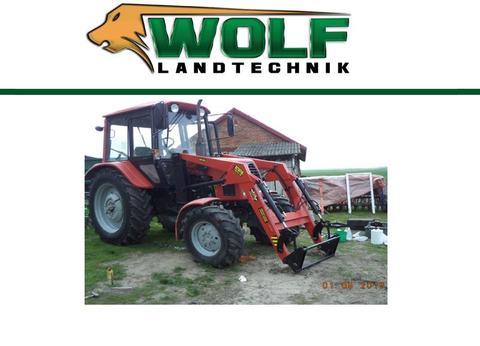 Wolf-Landtechnik GmbH TUR4 Frontlader für Belarus 50-80-82 Komplettpak