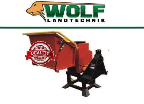 Remet CNC Wolf-Landtechnik GmbH Holzhacker RP-120 PROFESSIONAL 6 Messer