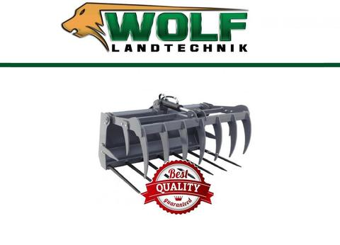 Wolf-Landtechnik GmbH Krokodilzange CLASSIC Hoflader / Minilader