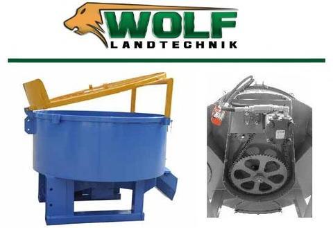 Betonmischer mit Hydraulikmotor   1200 Liter   B