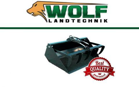Wolf-Landtechnik GmbH Krokodilschaufel PLUS  Hoflader / Minilader