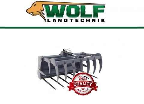 Wolf-Landtechnik GmbH Krokodilzange Plus  für Hoflader / Minilader